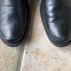 Paul Green Shoes - Paul Green tall black leather boots